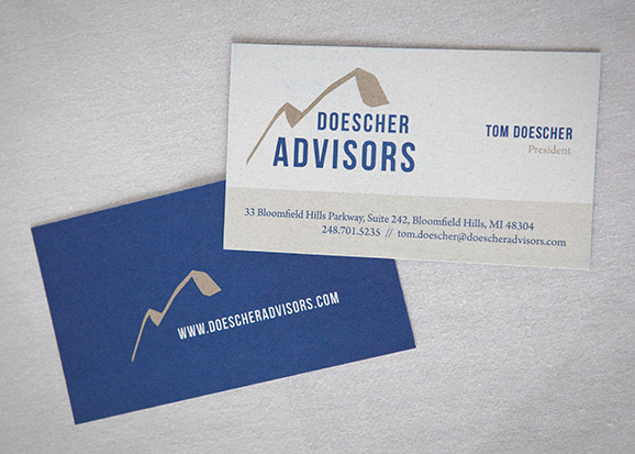 Doescher Advisors Business Card